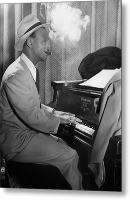 Earl 'fatha' Hines(1903-1983 Metal Print by Granger