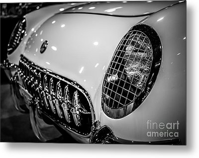 Early 1950's Chevrolet Corvette C1 Metal Print by Paul Velgos