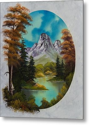 Russet Autumn  Metal Print by C Steele