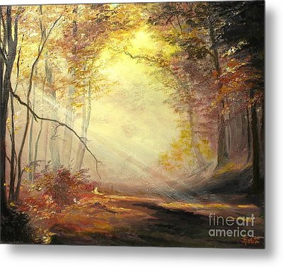 Early In The Morning Metal Print by Sorin Apostolescu