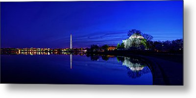 Early Morning Cherry Blossoms Metal Print by Metro DC Photography