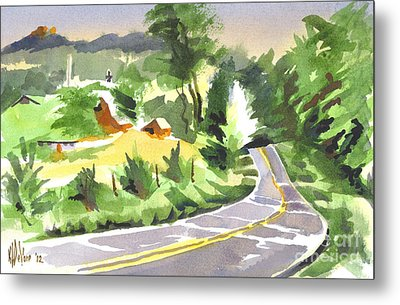 Early Morning Out Route Jj Metal Print by Kip DeVore