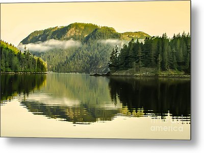 Early Morning Reflections Metal Print by Robert Bales