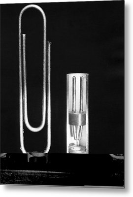 Early Point Contact Transistor Metal Print by Science Photo Library