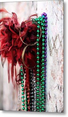 Earrings For Marie Metal Print by John Rizzuto