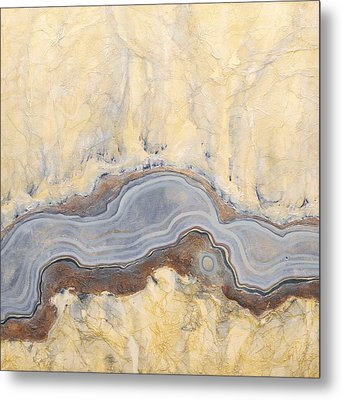 Earth Passage 11 Metal Print by Carlynne Hershberger