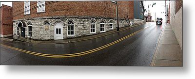 East Oak St Mount Airy Nc Metal Print by Greg Joens