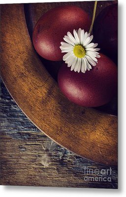 Easter Eggs Metal Print by Jelena Jovanovic