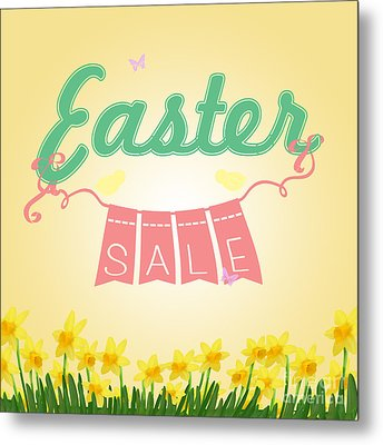 Easter Sale Metal Print by Sophie McAulay