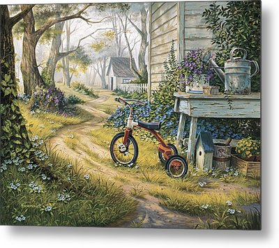 Easy Rider Metal Print by Michael Humphries