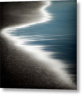 Ebb And Flow Metal Print by Dave Bowman