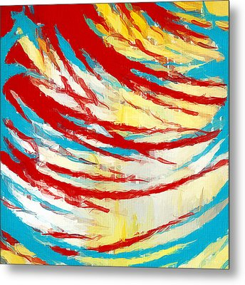Eclectic Rays  Metal Print by Lourry Legarde