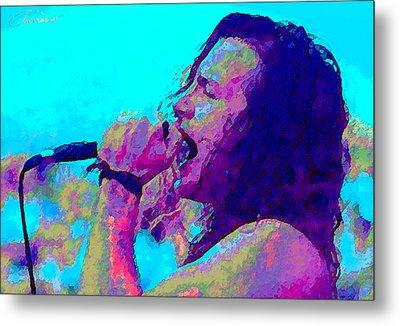 Eddie Vedder Metal Print by John Travisano