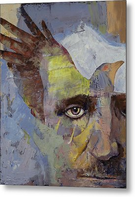 Poe Metal Print by Michael Creese
