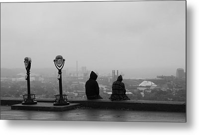 Edge Of The City Metal Print by Stephen Melcher