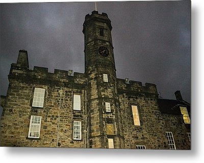 Edinburgh Castle Metal Print by Bill Mock