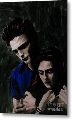 Edward And Bella Metal Print by Betta Artusi