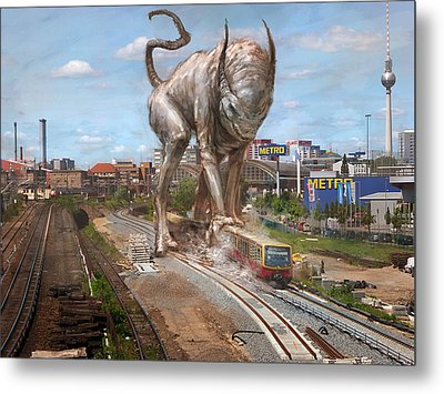 Eeek Berlin Metal Print by Ethan Harris