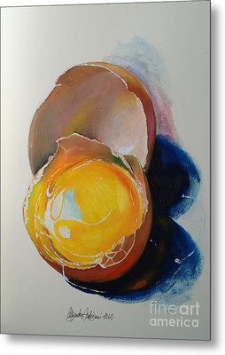 Egg.. Metal Print by Alessandra Andrisani