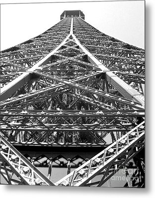 Eiffel Tower Metal Print by Andrea Anderegg
