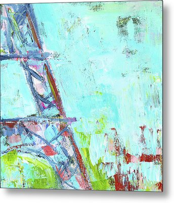 Eiffel Tower I Metal Print by Pamela J. Wingard