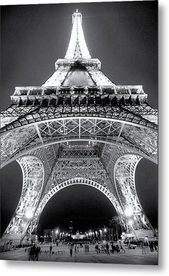 Eiffel Tower Metal Print by John Gusky
