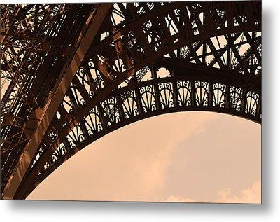 Eiffel Tower Paris France Arc Metal Print by Patricia Awapara