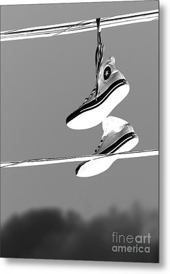 Electric Shoes Metal Print by Steven Milner