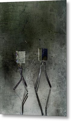 Electrical Circuits Metal Print by Toppart Sweden