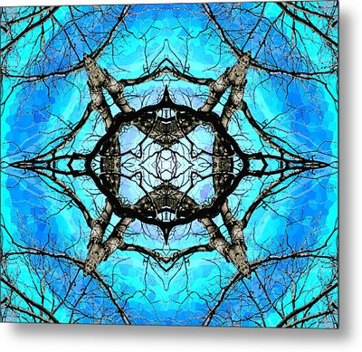 Elemental Force Metal Print by Shawna Rowe