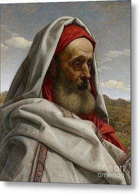 Eliezer Of Damascus Metal Print by William Dyce