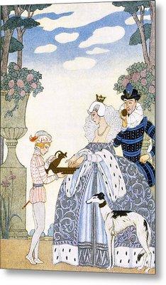 Elizabethan England Metal Print by Georges Barbier