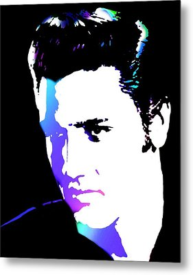 Elvis Metal Print by Cindy Edwards