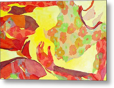 Embodied Metal Print by Diane Fine
