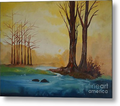 Emerging Light Of Hopes Metal Print by Jnana Finearts