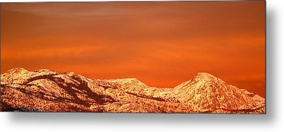 Emigrant Gap Metal Print by Bill Gallagher