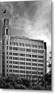 Emily Morgan Hotel In San Antonio Metal Print by Christine Till