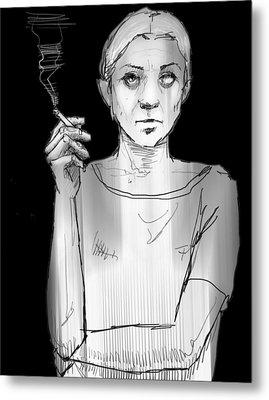 Empty Joan Metal Print by H James Hoff