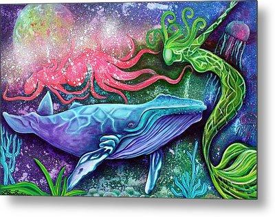 Enchanted Ocean Metal Print by Laura Barbosa