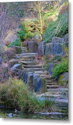 Enchanted Stairway Metal Print by Athena Mckinzie