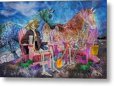 Enchanting Humor Metal Print by Betsy Knapp