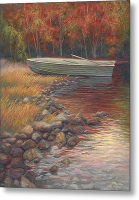 End Of The Day Metal Print by Lucie Bilodeau