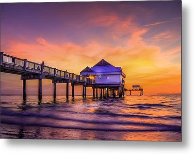 End Of The Day Metal Print by Marvin Spates
