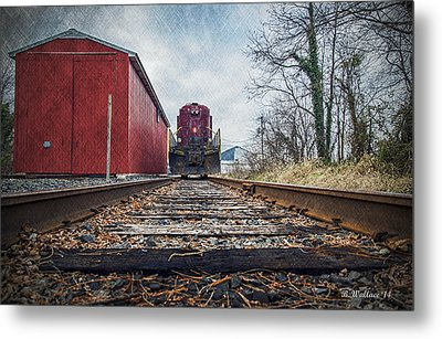 End Of The Line Metal Print by Brian Wallace