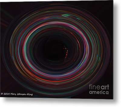 Endless Metal Print by Mary  King