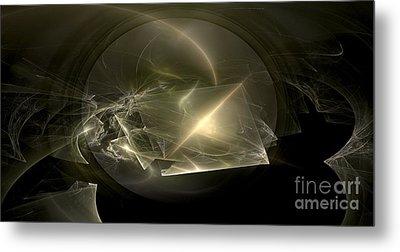 Energy Breaks Metal Print by Peter R Nicholls