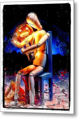 Energy Love Metal Print by Mauro Celotti