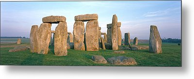 England, Wiltshire, Stonehenge Metal Print by Panoramic Images