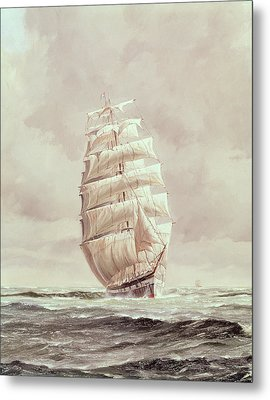 English Wool Clipper Metal Print by Anonymous