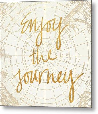 Enjoy The Journey Metal Print by Elizabeth Medley